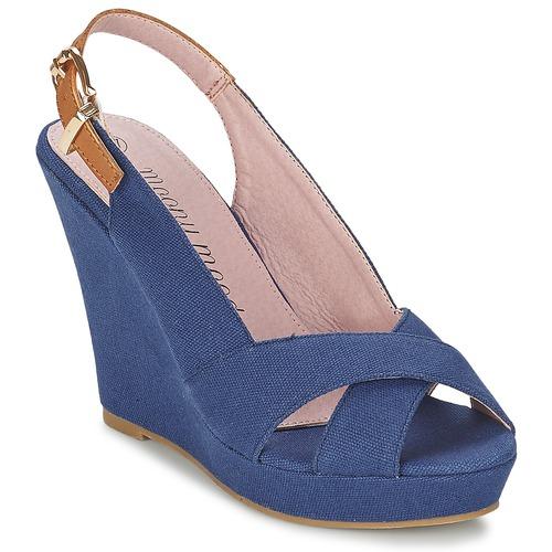 Zapatos Mujer Sandalias Moony Mood AKOLM Marino