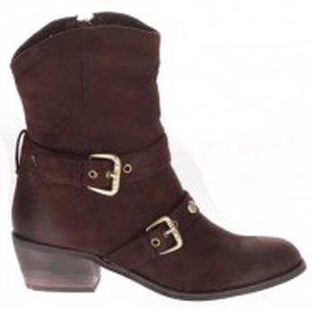 Zapatos Mujer Botines Les Petites Bombes Bottines Helsinky chocolat Marrón