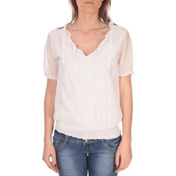 textil Mujer Tops / Blusas Vision De Reve Tunique Kate 7041 Blanche Blanco