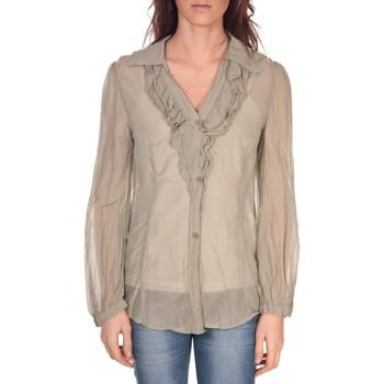 textil Mujer Tops / Blusas Vision De Reve Tunique Lorine 7068 Gris Marrón