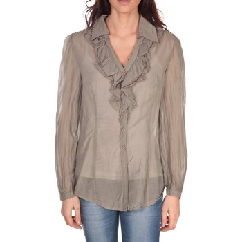textil Mujer Tops / Blusas Vision De Reve Tunique Lorine 7068 Taupe Marrón