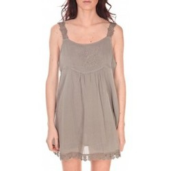 textil Mujer Túnicas Vision De Reve Robe Toupie 7062 Marron Marrón