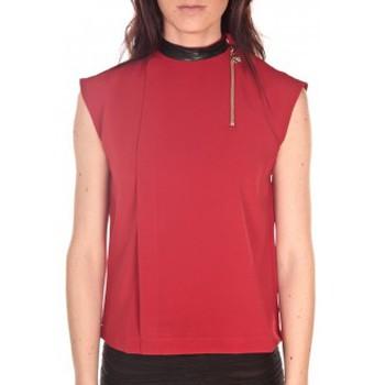 textil Mujer Camisetas sin mangas Tcqb Top Sirene Rouge Rojo