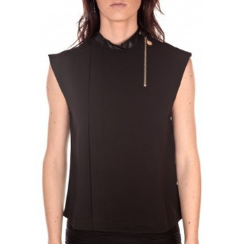 textil Mujer Camisetas sin mangas Tcqb Top Sirene Noir Negro