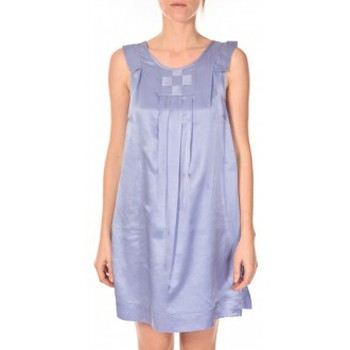 textil Mujer Vestidos cortos Vero Moda Robe Pepper 10049488 Bleu Violeta