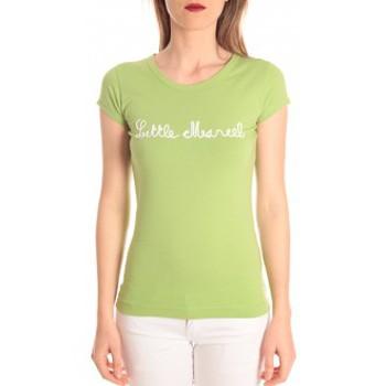 textil Mujer Camisetas manga corta Little Marcel t-shirt tokyo corde vert Verde