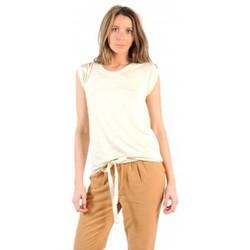 textil Mujer Camisetas manga corta American Vintage TOP JAC60 NATUREL Beige