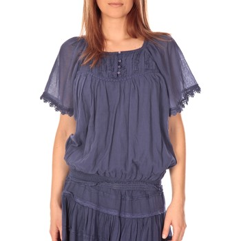textil Mujer Tops / Blusas Vision De Reve vision de rêve t-shirt 9007 bleu Azul