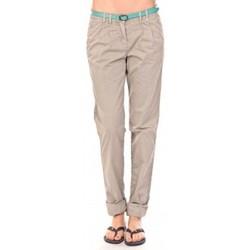 textil Mujer Pantalones Tom Tailor Pantalon Ceinture gris Gris