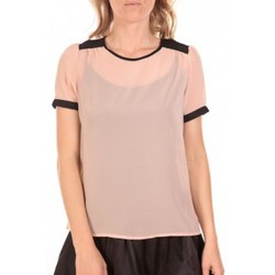 textil Mujer Tops / Blusas Vero Moda Top Norma Rose Poudre Rosa