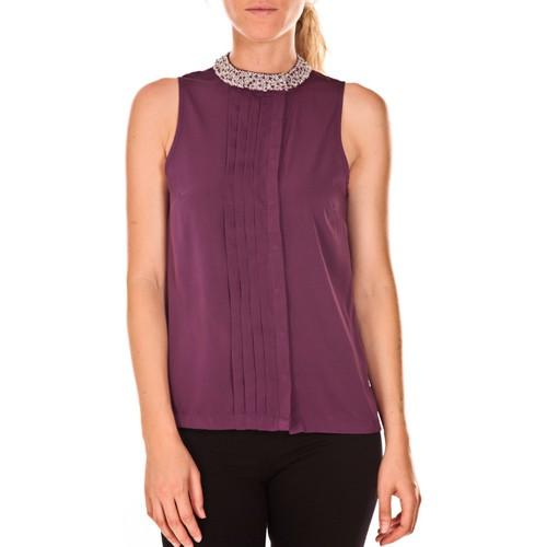 textil Mujer Tops / Blusas Vero Moda Haut ARMA 82935 Violet Violeta