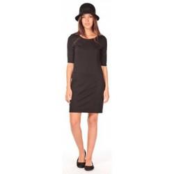 textil Mujer Vestidos cortos Vero Moda Lynette 2/4 pocke dress noir Negro