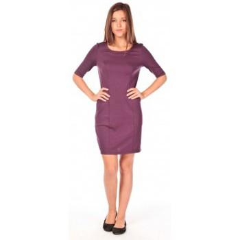 textil Mujer Vestidos cortos Vero Moda Lynette 2/4 pocke dress violet Violeta
