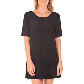textil Mujer Vestidos cortos Vero Moda Rose 2/4  Robe  wall Aug noir Negro