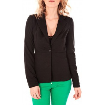 textil Mujer Chaquetas / Americana Vero Moda JAINA LS Blazer Noir Negro