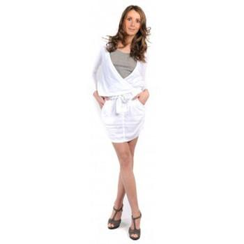 textil Mujer Faldas Sud Express JUPE COURTE JIRONI BLANC Blanco