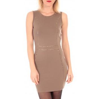textil Mujer Vestidos cortos Vero Moda YDA SL MINI DRESS  Marron Marrón