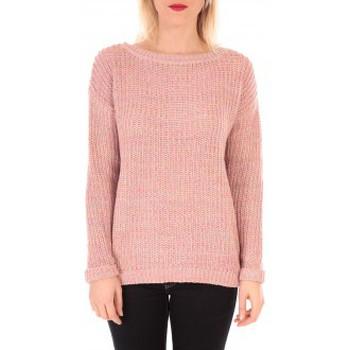 textil Mujer Jerséis Vero Moda WOODPECKER LS BOATNECK KM  Rose Rosa