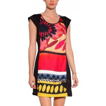 textil Mujer Vestidos cortos Desigual VEST_JUANA Robe 31V2858  Noir Negro