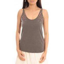 textil Mujer Camisetas sin mangas Blune Débardeur Lendemain de fête LF-DF01E13 Gris Gris