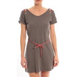 textil Mujer Vestidos cortos Blune Robe Larme de Joie LJ-RF01E13 Grise Gris