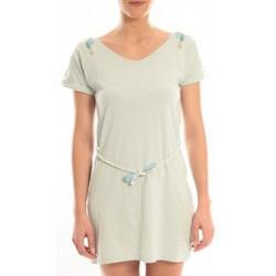 textil Mujer Vestidos cortos Blune Robe Larme de Joie LJ-RF01E13 Verte Verde