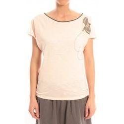 textil Mujer Camisetas manga corta Blune T-Shirt Libre Comme l'Air LCL-TF02E13 Rose Rosa