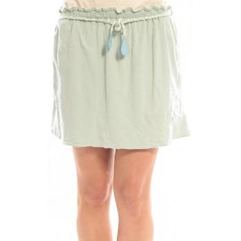 textil Mujer Faldas Blune Jupe Lendemain de Fête JP-01E13 Verte Verde
