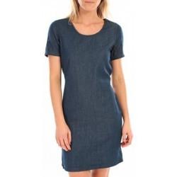textil Mujer Vestidos cortos Vero Moda MY SS SHORT DENIM DRESS Bleu Azul