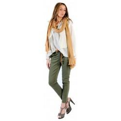 textil Mujer Tops / Blusas American Vintage BLOUSE MIL144E11 NATUREL Beige