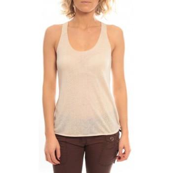 textil Mujer Camisetas sin mangas So Charlotte Oversize tank Top Snake Burnout T53-371-00 Beige Beige