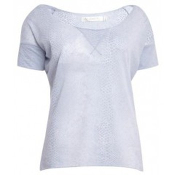 textil Mujer Camisetas manga corta So Charlotte Tight short sleeves Tee all snake T53-406-00 Gris Gris