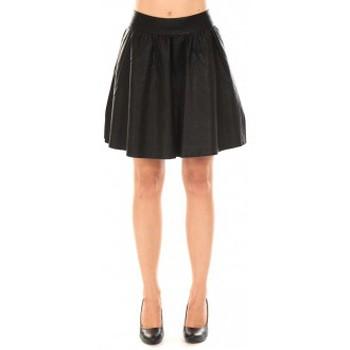 textil Mujer Faldas Vero Moda JANICE SHORT PU SKIRT Black Negro