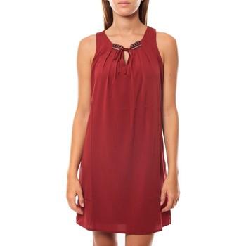 textil Mujer Vestidos cortos Vero Moda KRISTY S/L SHORT DRESS EX7 Rosewood Rojo