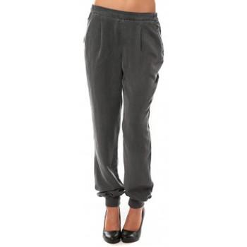 textil Mujer Pantalones Vero Moda KANIO NW LOSSE PANT Asphalt Gris