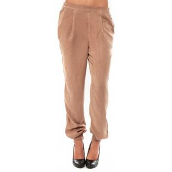 textil Mujer Pantalones Vero Moda KANIO NW LOSSE PANT Maghony Rose Beige