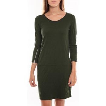textil Mujer Vestidos cortos Vero Moda Freya 3/4 Short Dress 97250 Vert Verde