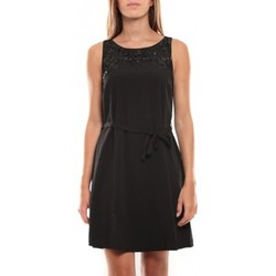textil Mujer Vestidos cortos Vero Moda Virgo S/L Robe 97034 Noir Negro
