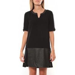 textil Mujer Vestidos cortos Vero Moda Selma 3/4 Short Dress 97506 Noir Negro