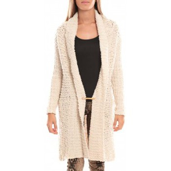 textil Mujer Chaquetas By La Vitrine Veste Julie 33001 Blanc Blanco