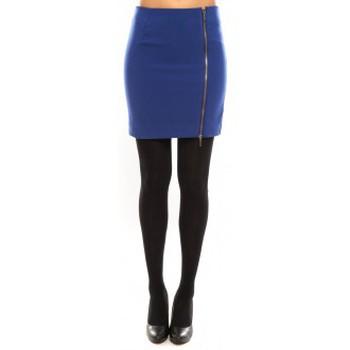 textil Mujer Faldas Vero Moda Goss NW Short Skirt 10098577 Bleu Azul