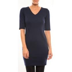 textil Mujer Vestidos cortos Vero Moda Regina 2/4 Short Dress 10099101 Bleu Azul