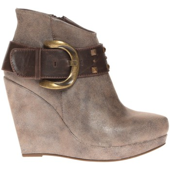 Zapatos Mujer Low boots Cassis Côte d'Azur Bottines Anaee Belt Bronze Marrón