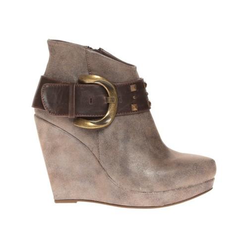Zapatos Mujer Low boots Cassis Côte d'Azur Bottines Anaee Belt Bronze Marrón