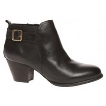 Zapatos Mujer Botines Ilario Ferucci Bottines Clarabel Noir Negro
