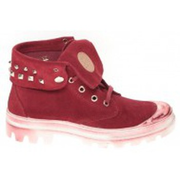 Zapatos Mujer Zapatillas altas Cassis Côte d'Azur Baskets Ginara Bordeaux Rojo