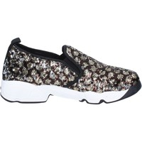 Zapatos Mujer Slip on J. K. Acid slip on bronce lentejuelas negro BX746 negro