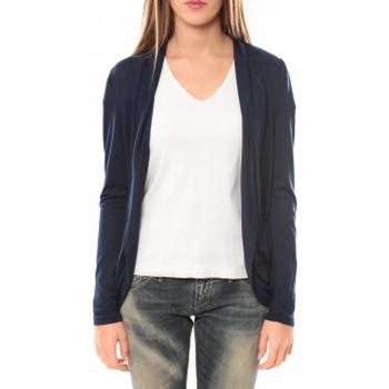 textil Mujer Chaquetas de punto Vero Moda Living L/S Cardigan 10102085 Bleu Azul