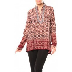 textil Mujer Camisas Dress Code Chemisier SHK F323 Rouge Rojo