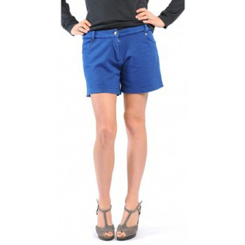 textil Mujer Shorts / Bermudas American Vintage SHORT KEY131 INDIGO Azul